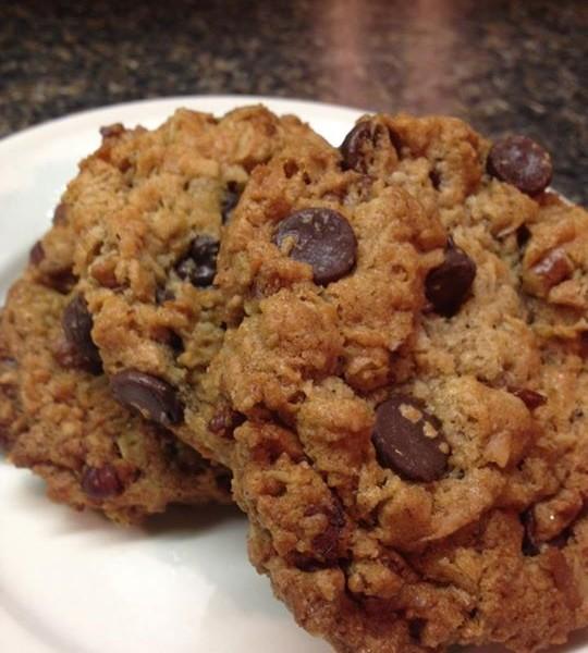 3 Cowboy Cookies