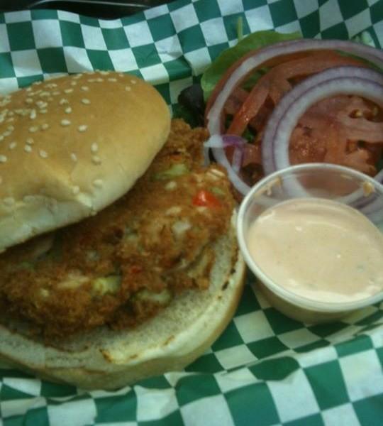 Crabbie Patty Sandwich
