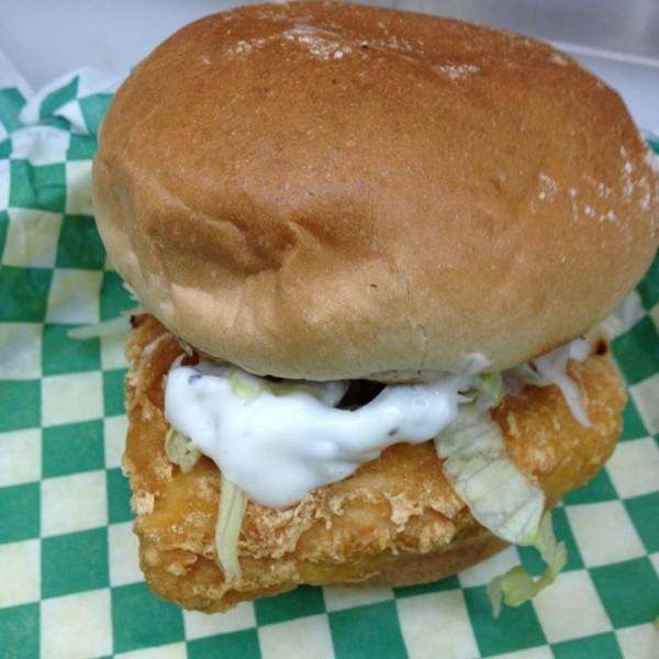 Fishless Filet Sandwich